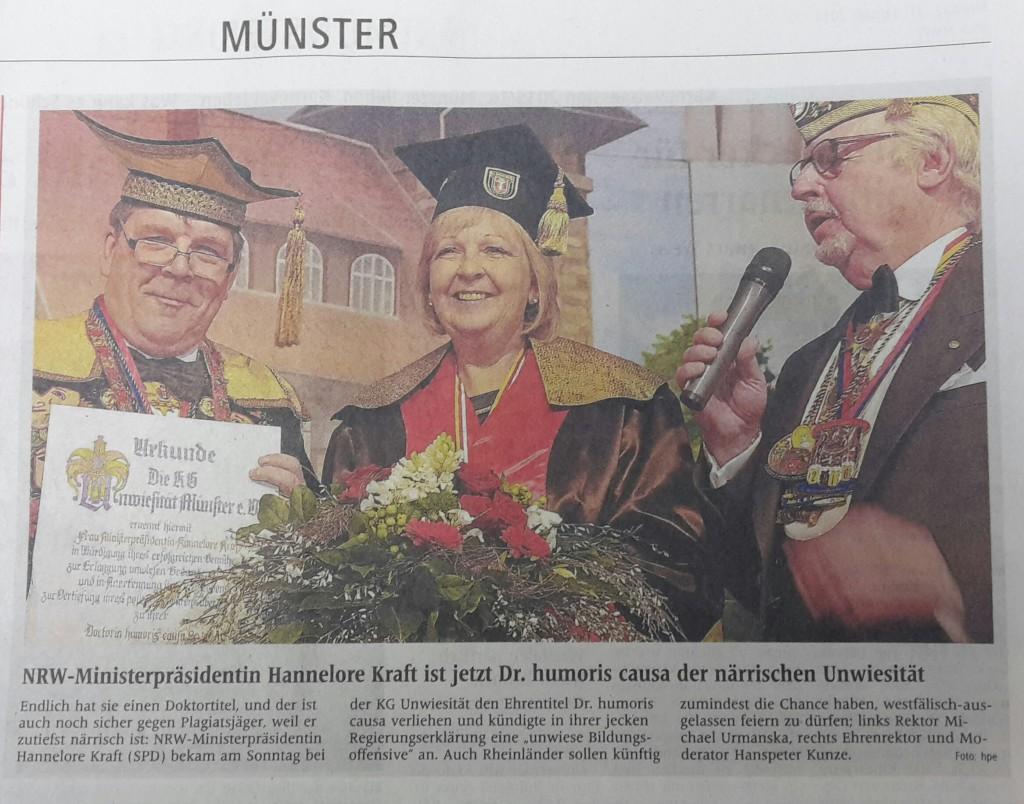 KG Unwiesität Münster